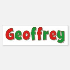 Geoffrey Christmas Bumper Bumper Bumper Sticker