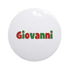 Giovanni Christmas Round Ornament