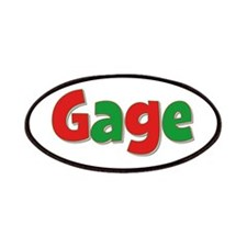 Gage Christmas Patch