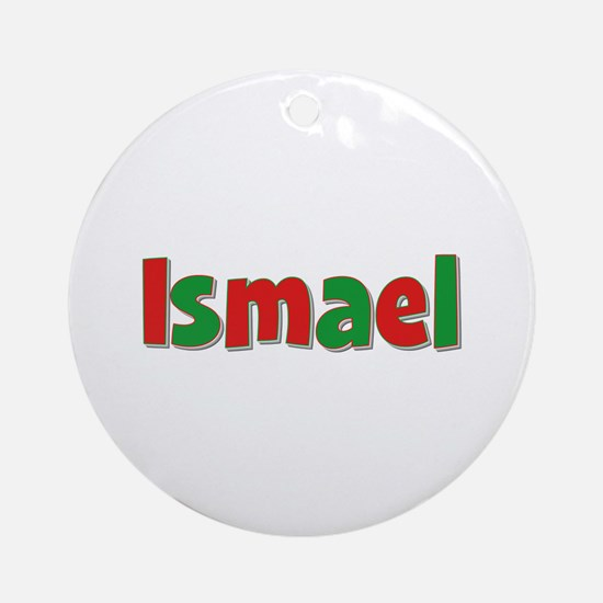 Ismael Christmas Round Ornament