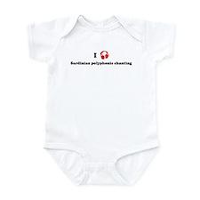 Sardinian polyphonic chanting Infant Bodysuit