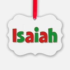 Isaiah Christmas Ornament