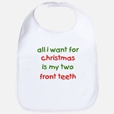 Two Front Teeth for Xmas Bib