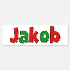 Jakob Christmas Bumper Bumper Bumper Sticker