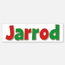 Jarrod Christmas Bumper Bumper Bumper Sticker