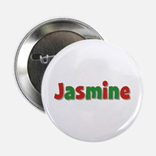 Jasmine Christmas Button
