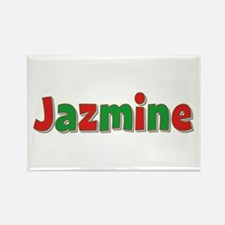 Jazmine Christmas Rectangle Magnet