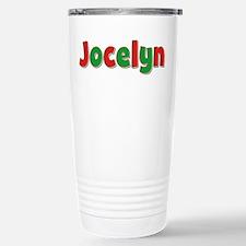 Jocelyn Christmas Stainless Steel Travel Mug