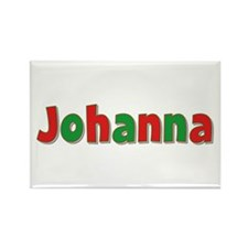 Johanna Christmas Rectangle Magnet