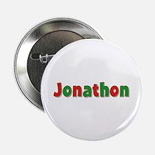 Jonathon Christmas Button