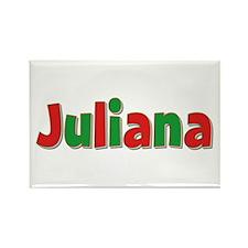 Juliana Christmas Rectangle Magnet