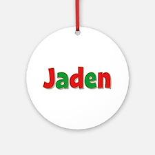 Jaden Christmas Round Ornament