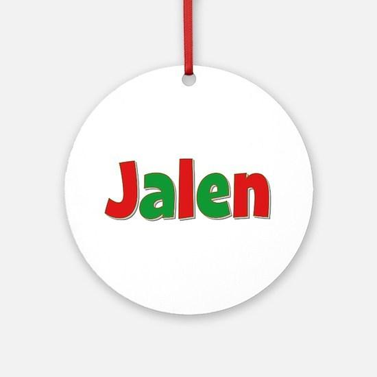 Jalen Christmas Round Ornament