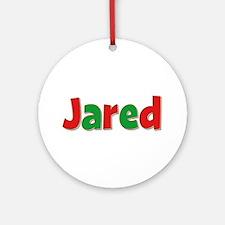 Jared Christmas Round Ornament