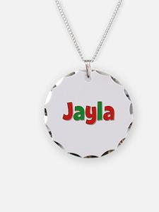 Jayla Christmas Necklace