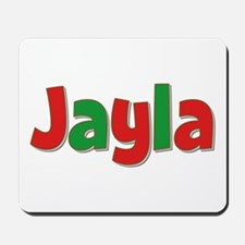 Jayla Christmas Mousepad