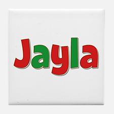Jayla Christmas Tile Coaster