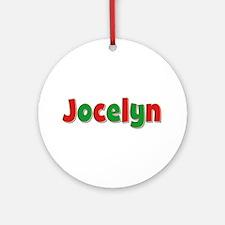 Jocelyn Christmas Round Ornament