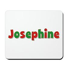 Josephine Christmas Mousepad