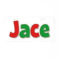 Jace Christmas Aluminum License Plate