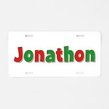 Jonathon Christmas Aluminum License Plate