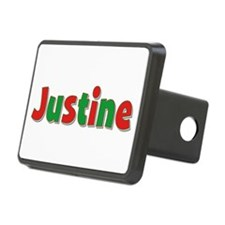 Justine Christmas Hitch Cover