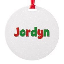 Jordyn Christmas Ornament
