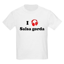 Salsa gorda music Kids T-Shirt