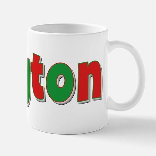 Clayton Christmas Mug