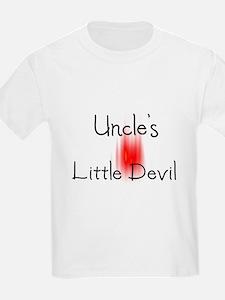 Uncle's Little Angel Kids T-Shirt