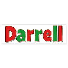 Darrell Christmas Bumper Bumper Sticker