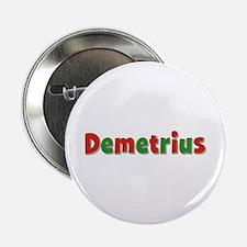Demetrius Christmas Button