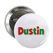 Dustin Christmas Button
