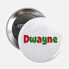 Dwayne Christmas Button