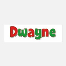 Dwayne Christmas 36x11 Wall Peel