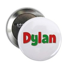 Dylan Christmas Button