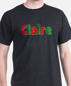 Claire Christmas T-Shirt