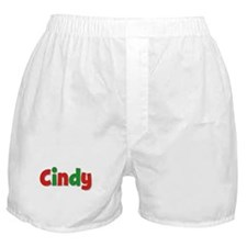 Cindy Christmas Boxer Shorts