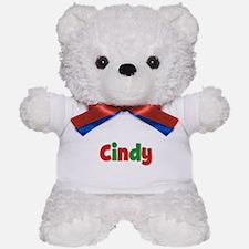 Cindy Christmas Teddy Bear