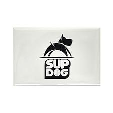 SUP DOG 3 Rectangle Magnet