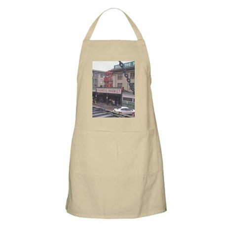 Pike Place barbecue apron