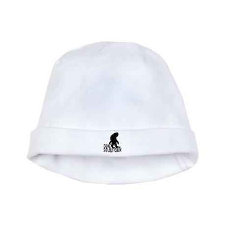 Gone Squatchin print 3 baby hat