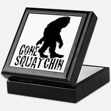Gone Squatchin print 3 Keepsake Box