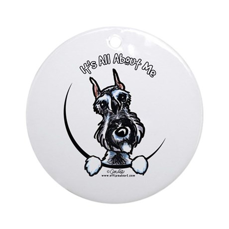 SP Schnauzer IAAM Ornament (Round)