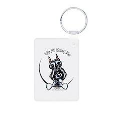 SP Schnauzer IAAM Keychains
