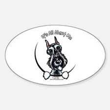 SP Schnauzer IAAM Sticker (Oval)