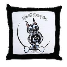SP Schnauzer IAAM Throw Pillow