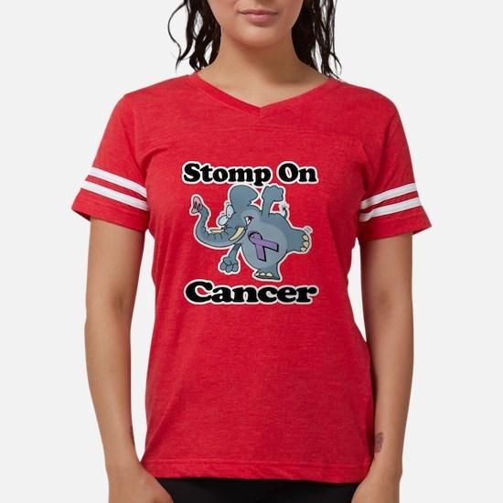 Elephant Stomp On Cancer.png Womens Football Shirt