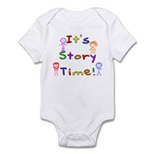 Story Time w Stick Kids Onesie