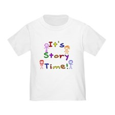 Story Time w Stick Kids T